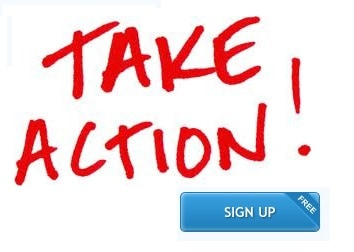 Take action sign up